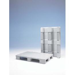Plastpall Hygien 1200x800x160mm Grå