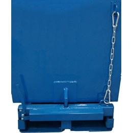 Säkerhetskedja till tippcontainer