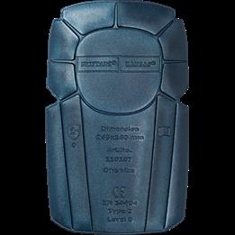 Knäskydd 20mm blå