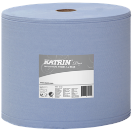 Torkrulle Katrin Plus Blå 2-lager