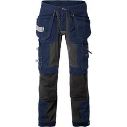Hantverksbyxa Gen Y Stretch 2530 CYD Blå