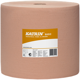 Torkrulle Katrin Basic XL Brun 1-lager