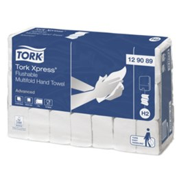 Pappershandduk Tork Xpress® H2 Multifold 2-lager spolbar