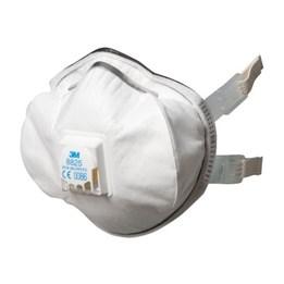 Dammfiltermask 3m 8825f