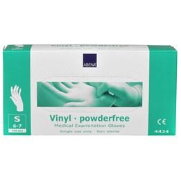 Vinylhandske Transparent puderfri