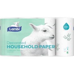 Hushållspapper Lambi Dekor 3-lager