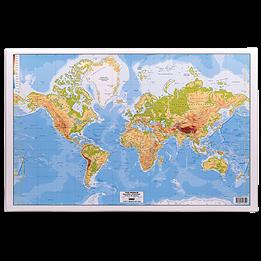 Skrivunderlägg Världskarta