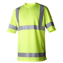 T-shirt Varsel Klass 3 Gul L