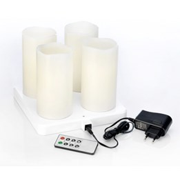 Blockljus LED Vax Varmvit