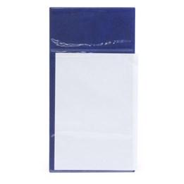 Pallficka A4 med glasklar ficka Blå2014320
