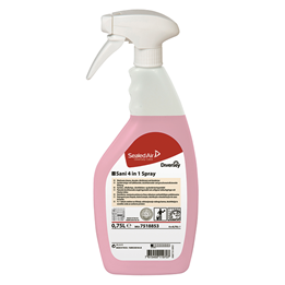 Sanitetsrent Sani 4in1 Spray 750ml