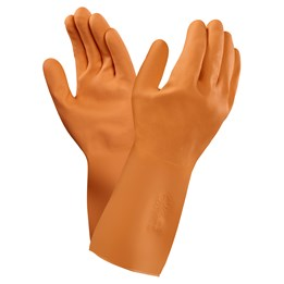 Latexhandske Marigold Orange GO2T