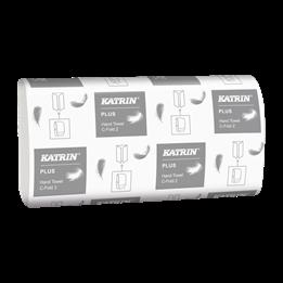 Pappershanduk Katrin Plus C-Fold 2-lager