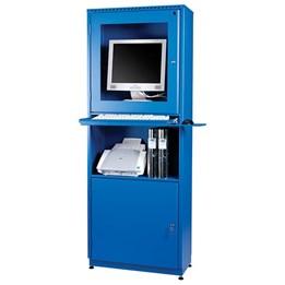 Datorskåp för plattskärm