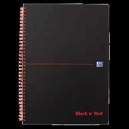 Anteckningsbok Black & Red