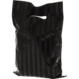 Plastbärkasse Stripes