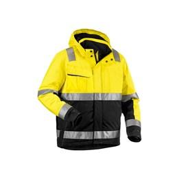 Vinterjacka Varsel 4870 Svart/gul klasss 3