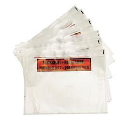 Packsedelskuvert med tryck