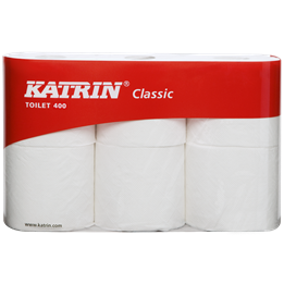 Toalettpapper Katrin Classic 400 2-lager