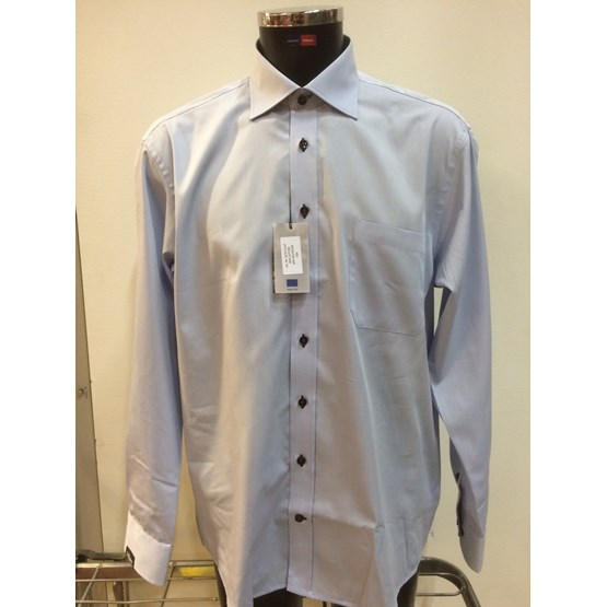 Herrskjorta blå m ficka