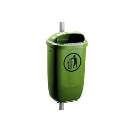 Papperskorg Classic 50L, grön
