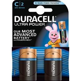 Batteri Duracell Ultra C/LR14