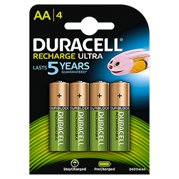Batteri Duracell Recharge AA