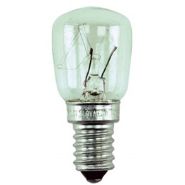 Glödlampa päron E14 15w Klar