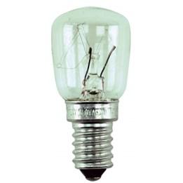 Glödlampa päron E14 25w Klar 2st/fp