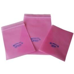 Plastpåse med ESD skydd Pink Poly