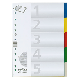 Plastregister Durable A4