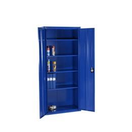 Plåtskåp 1800x800x400mm, blå