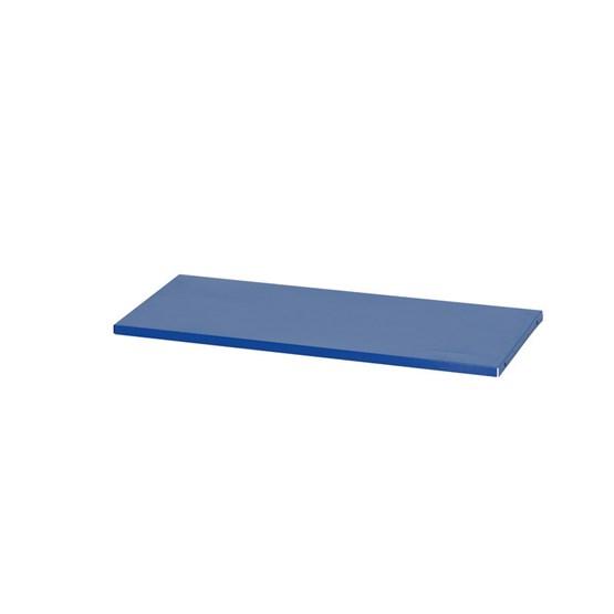 Hyllplan 800x400mm, blå