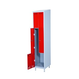 Klädskåp z Röd 2-dörrar