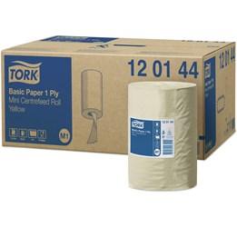 Torkrulle Tork Universal M1 Mini-Tork 1-lager gul