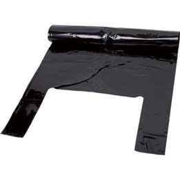 Plastsäck med knythandtag 125L
