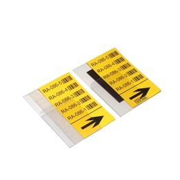Magnetisk Etiketthållare till Stolpe 75x150mm