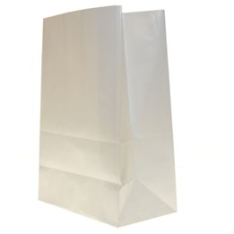 Papperspåse sos Vit