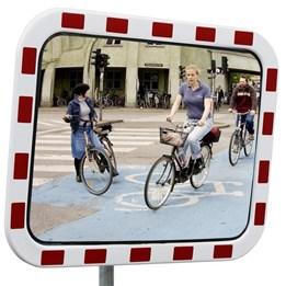 Trafikspegel med reflex