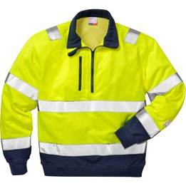Sweatshirt Varsel 728 BPV klass 3 gul/blå
