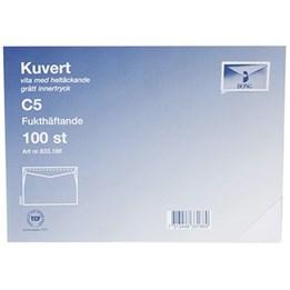 Kuvert C5 Mailman Vit självhäftande