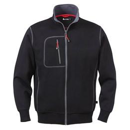 Sweatshirt jacka svart