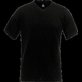 T-shirt V-ringad Svart