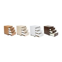 Kontorshurts, 3 lådor
