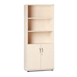 Förvaringsmöbel, öppen + slagdörr, 5xA4
